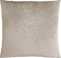 Monarch Specialties Floral Velvet 18 x 18 Taupe 1 Piece Pillow