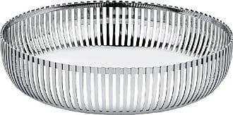 Alessi PCH02/20 Round Basket, Silver