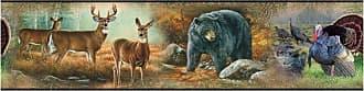 RoomMates Wildlife Medley Peel and Stick Border - RMK1086BCS