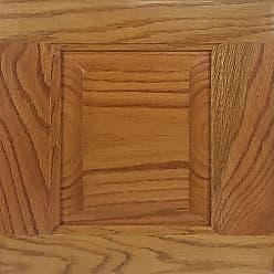 American Heartland Oak Bookcase Classic Bourbon, Size: 60 in. - 41860CB
