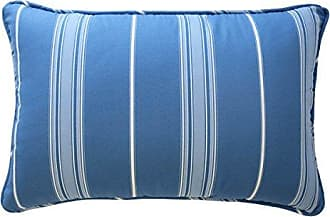Ellery Homestyles Waverly Kids 16448012X018AQU Ride The Wave 12-Inch by 18-Inch Striped Decorative Accessory Pillow, Aqua