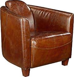 Moe's Salzburg Club Chair, Brown