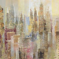 Portfolio Canvas Decor Skyrises Square by Longo Wrapped Canvas Wall Art, 24x24