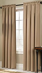 United Curtain Blackstone Blackout Window Curtain Panel, 54 by 63-Inch, Gold