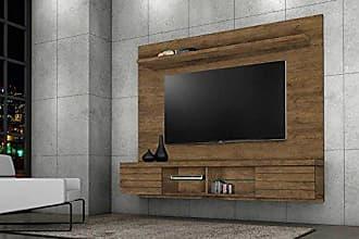 J&A Moveis Estante Home para TV de ate 55 Polegadas Vegas Cor Jequitiba