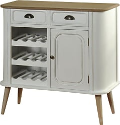 StyleCraft Tapered Leg Wine Bottle Buffet - SF25111DS