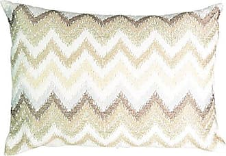 Ellery Homestyles Beautyrest 16426014X020MUL Social Call 14-Inch by 20-Inch Beaded Pillow, Multi