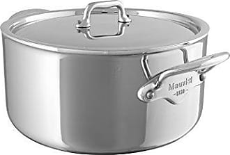 Bloomingdale's Made In France MCook 5 Ply Stainless Steel 5231.25 6.4-Quart Stewpan with Lid, Cast Stainless Steel Handle