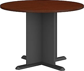 Bush Furniture Bush Business Furniture Series A & C 42 Inch Round Conference Table in Mahogany