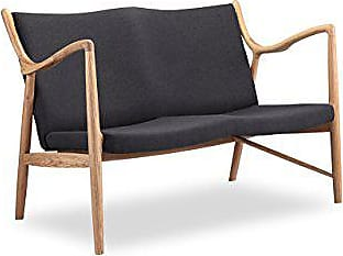 Kardiel Copenhagen 45 Mid-Century Modern Loveseat/2 Seat Sofa, Urban Ink Twill