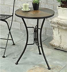 4D Concepts Slate Round Top Table - 601404