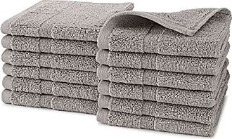 Westpoint Home Martex Purity Wash Cloth Set 12 Pack, Taupe