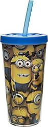 Zak designs DESA-M730 Despicable Me 16 oz. Insulated Tumbler with Straw, Minions, 16-Ounce, Multicolor