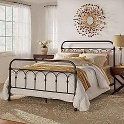 Weston Home Abingdon Metal Bed, Size: Queen - 308BQ(3A)