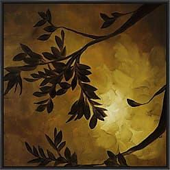 Ptm Images 9-13439 Evening Garden II, Canvas Wall Art, Black