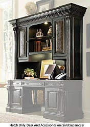 Hooker Furniture Black Home Office Telluride Computer Credenza Hutch