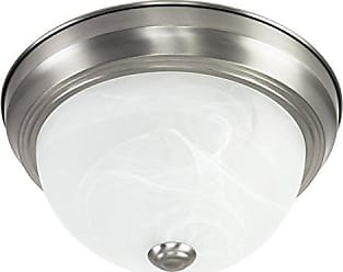 Yosemite Home Decor JK101-11SN2 Flushmount Series Eleven-Inch Incandescent Light, 11, Satin Nickle