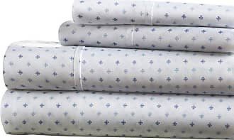 Noble Linens Premium Ultra Soft Lily Pattern Sheet Set by Noble Linens, Size: Queen - NL-4PC-LLY-Q-NA