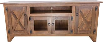 Eagle Furniture Farm House TV Stand with 4 Doors - FH-301870IADK