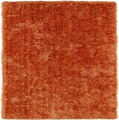 Kaleen Rugs Posh Collection PSH01-89 Orange Handmade 8 x 10 Rug
