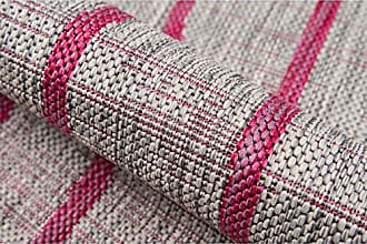 Momeni Rugs Novogratz Villa Collection Sicily Indoor/Outdoor Area Rug, 710 x 1010, Fuchsia