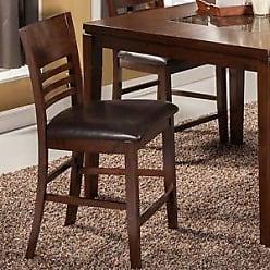 Alpine Furniture Granada Bar Stool with Cushion (Set of 2)