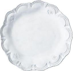 Vietri INC-1100D Incanto Lace American Dinner Plate, White