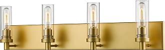 Z-Lite Persis 32 4-Light Bath Vanity in Satin Gold