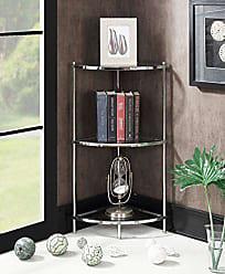Convenience Concepts 134006 Royal Crest Corner Shelf