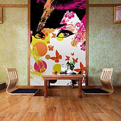 Ideal Decor Floral Girl Wall Mural - DM439