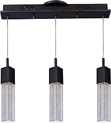 ET2 E22763 Fizz III 19 3 Light Linear LED Pendant Polished Chrome