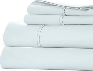 Trademark Lavish Home Cotton Rich Sateen Sheet Set - Sprout Green - Size: King Trademark
