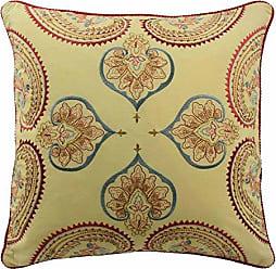 Ellery Homestyles WAVERLY Swept Away Decorative Pillow, 18x18, Berry