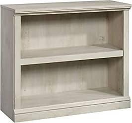 Sauder Sauder 423031 Bookcase, L: 35.28 x W: 13.23 x H: 29.92, Chalked Chestnut finish