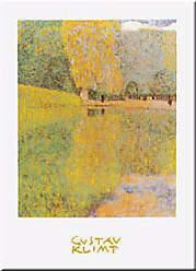 Buyartforless The Schonbrunn Park by Gustav Klimt 12x9.5 Art Print Poster Beautiful Classic Museum Print