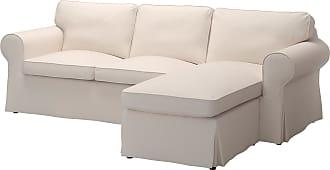 Perfekt IKEA EKTORP, 3er Sofa, Mit Récamiere Lofallet, Beige