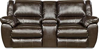 United Furniture Simmons Upholstery Bingo Motion Loveseat - 50433BR-63 BINGO BROWN