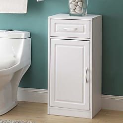 4D Concepts White Bathroom Base Cabinet with One Door - 76425
