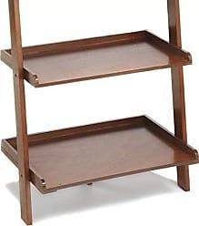 Convenience Concepts American Heritage Bookshelf Ladder, Cherry