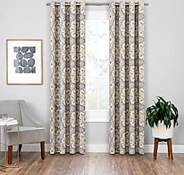 Ellery Homestyles KOZDIKO Eclipse Blackout Curtains for Bedroom - Benetta 52 x 95 Insulated Darkening Single Panel Rod Pocket Window Treatment Living Room, Spice