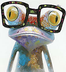 Yosemite Home Decor Yosemite Home Decor Hipster Froggy II, Multicolor