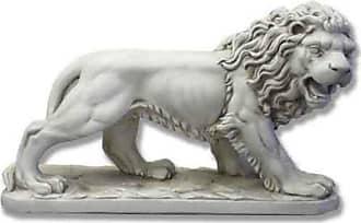 Orlandi Statuary Prowling Lion Garden Statue - F9321WAWLKLIONLARGE