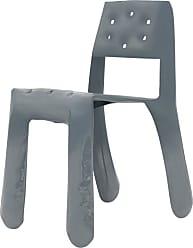 Zieta Chippensteel 0.5 Aluminum Chair In Blue Grey By Zieta