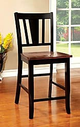 FURNITURE OF AMERICA CM3326BC-PC-2PK Dover II Counter Height Chair Set of 2 Dining