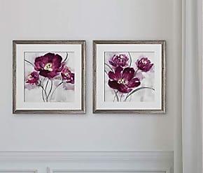 WEXFORD HOME My My Magenta -2 Piece Set Art Print, 16x16, My