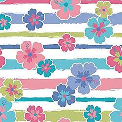Lar Adesivos Papel de Parede Infantil Floral Adesivo Flores Menina N4194