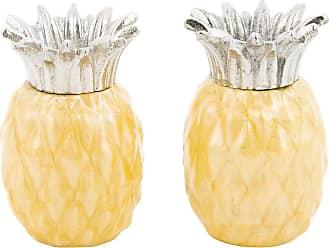 Julia Knight Pineapple Salt & Pepper Shakers - Set of 2