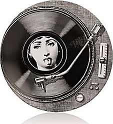Fornasetti Theme & Variations Plate No. 370 - Wht.&blk