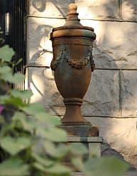 Orlandi Statuary Finial of San Marino with Lid Garden Statue - FS34052