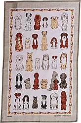 Ulster Weavers s Dogs Arrived Linen Tea Towel